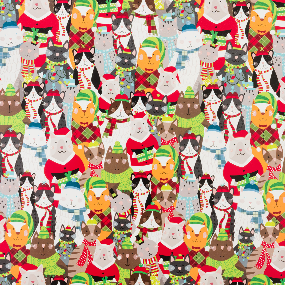 Jingle Cats Wrap