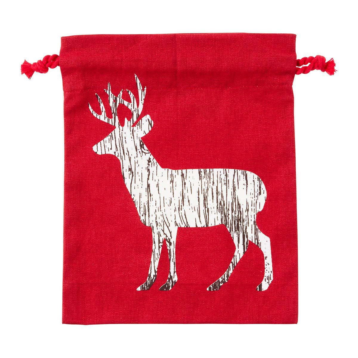 Sack Deer/Bear Medium Cotton