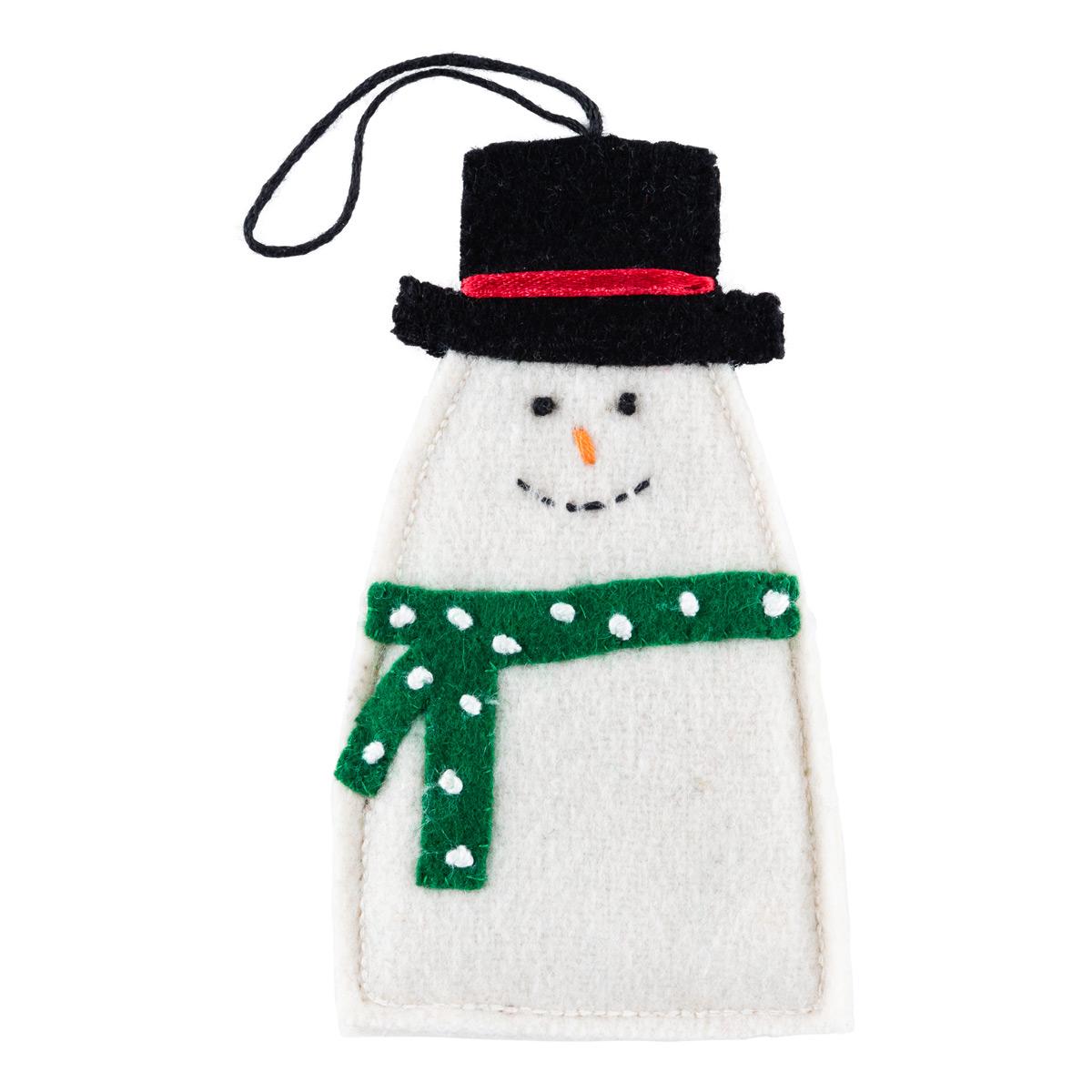 Gift Card Holder Snowman