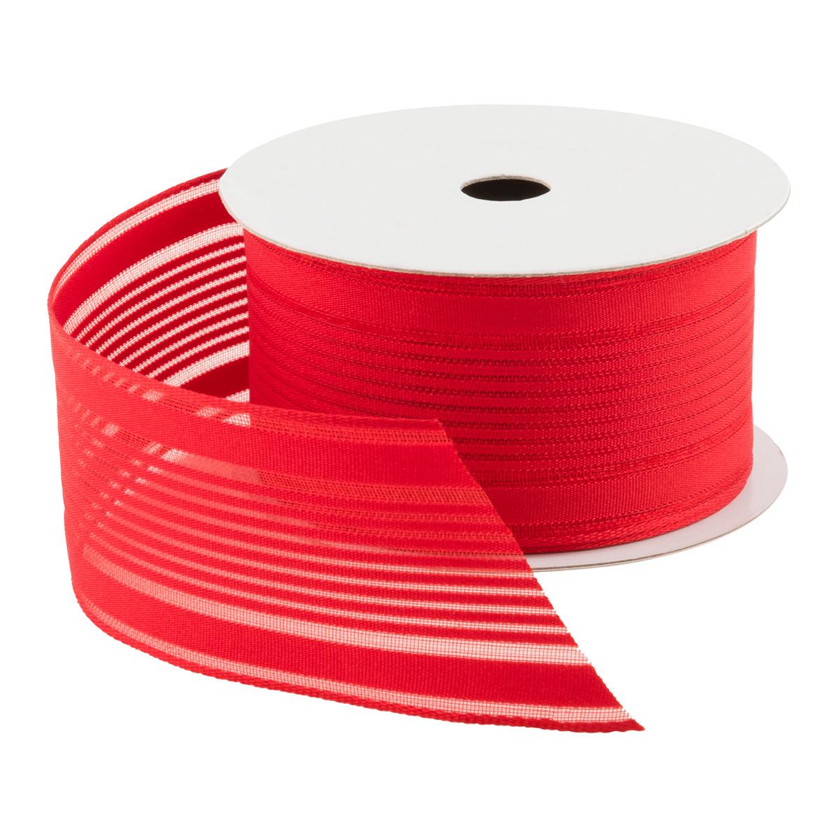 Ribbon Wired Sheer Stripe