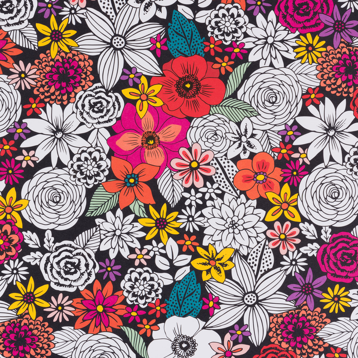 Wrap Sheets Sketch Floral