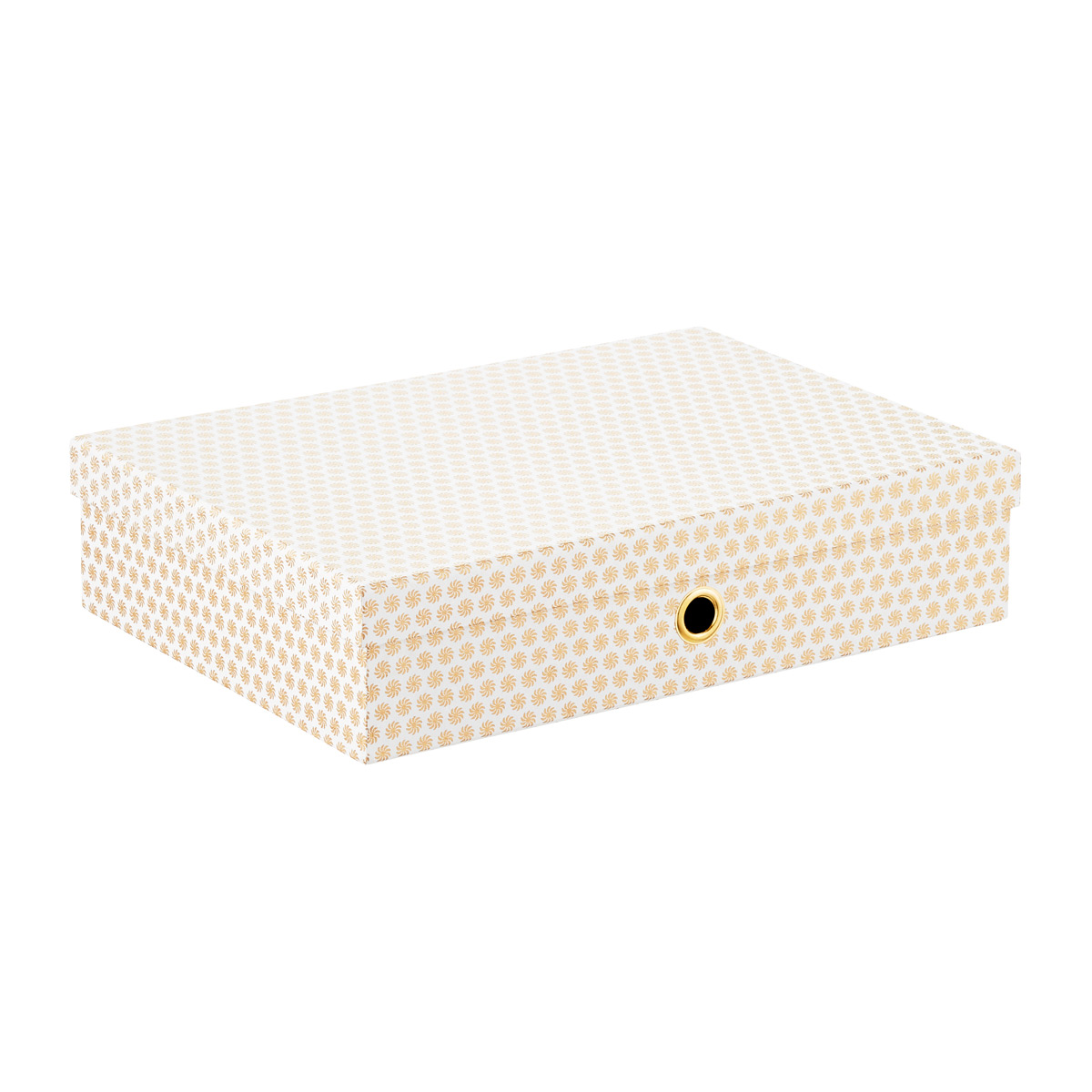 Floral Dot Document Box