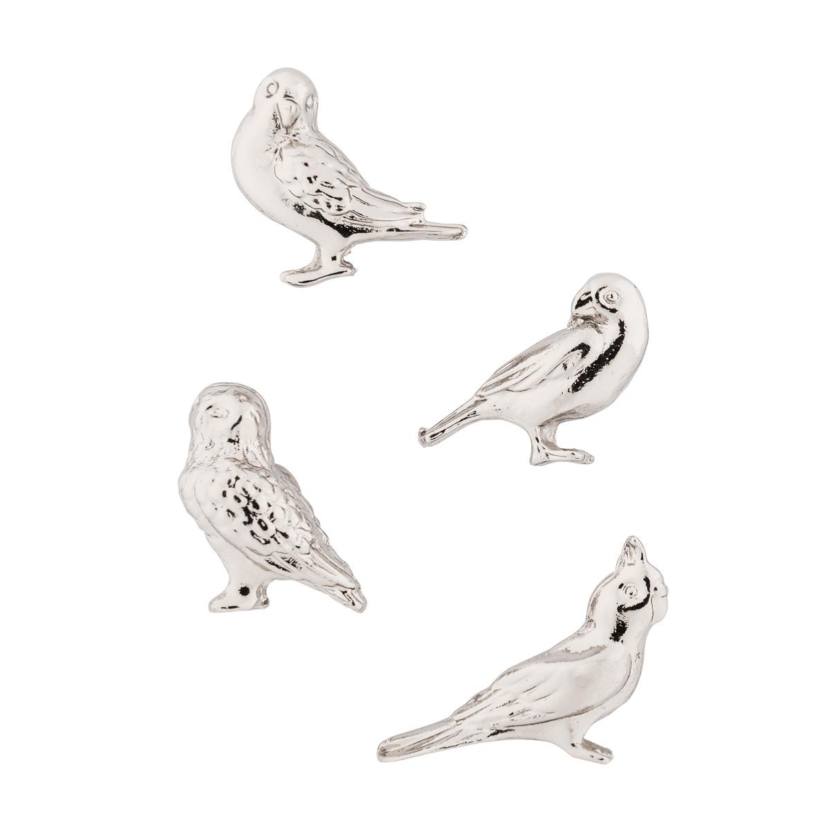 Bird Cast Iron Magnets