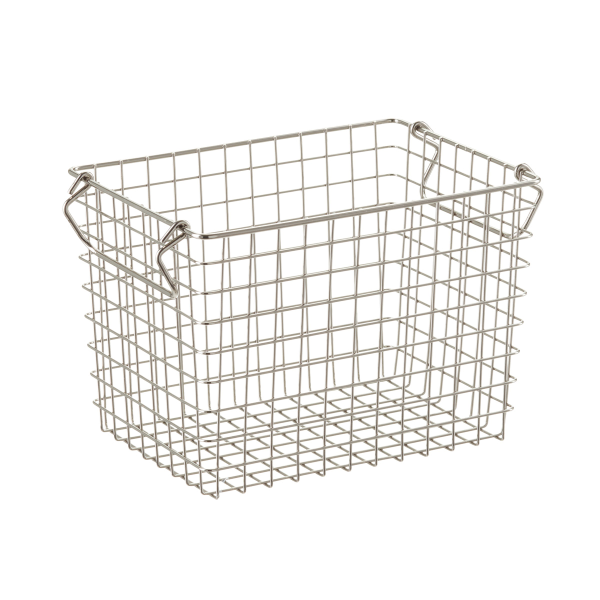 Tall Stacking Wire Basket