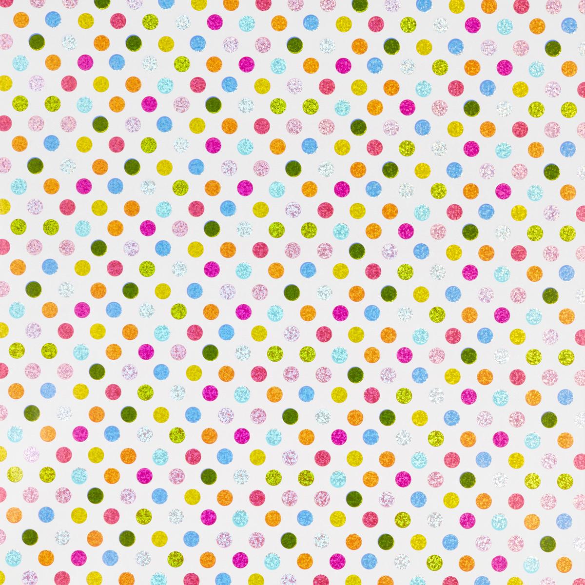 Wrap Prismatic Pop Dots