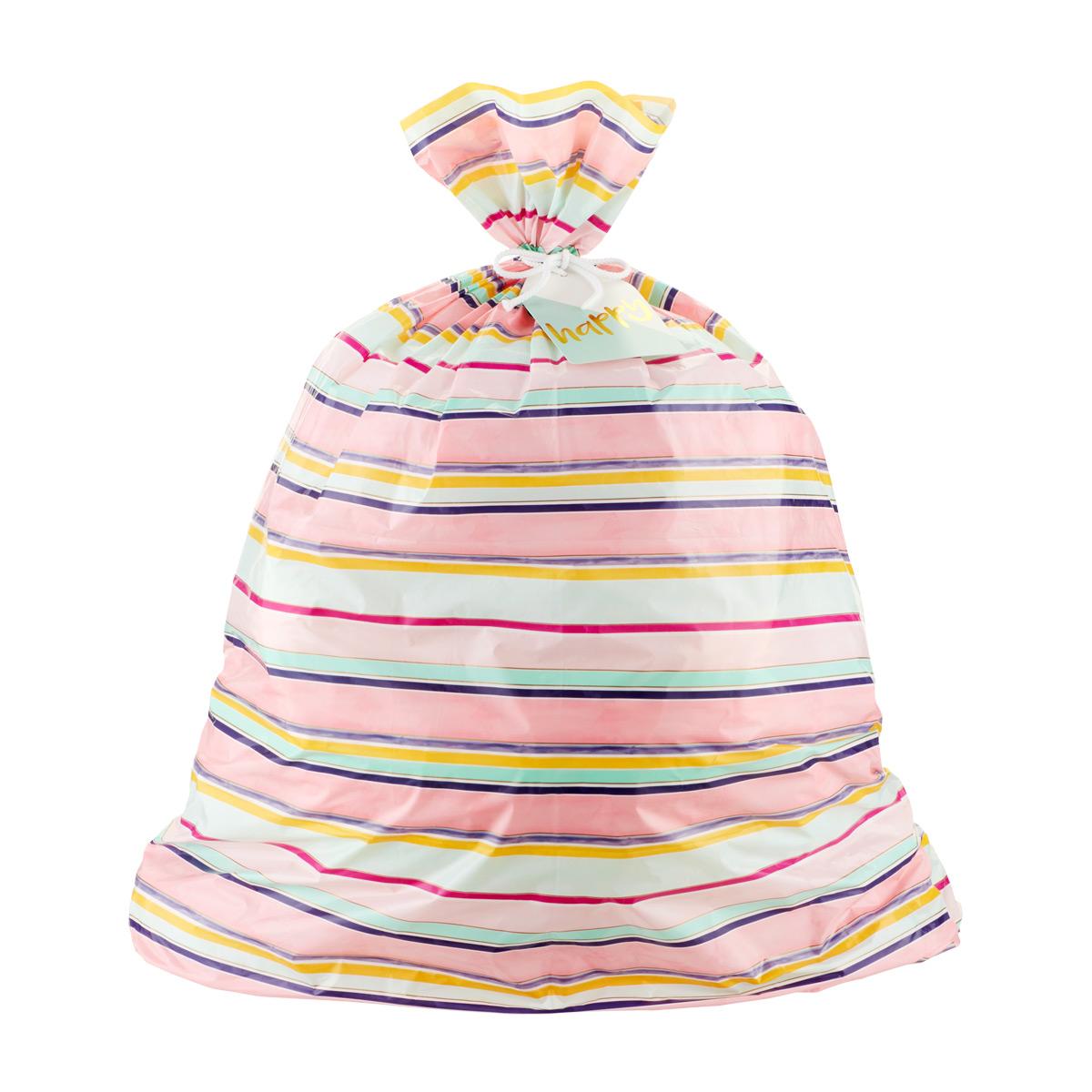 XL Gift Sack Spring Stripe