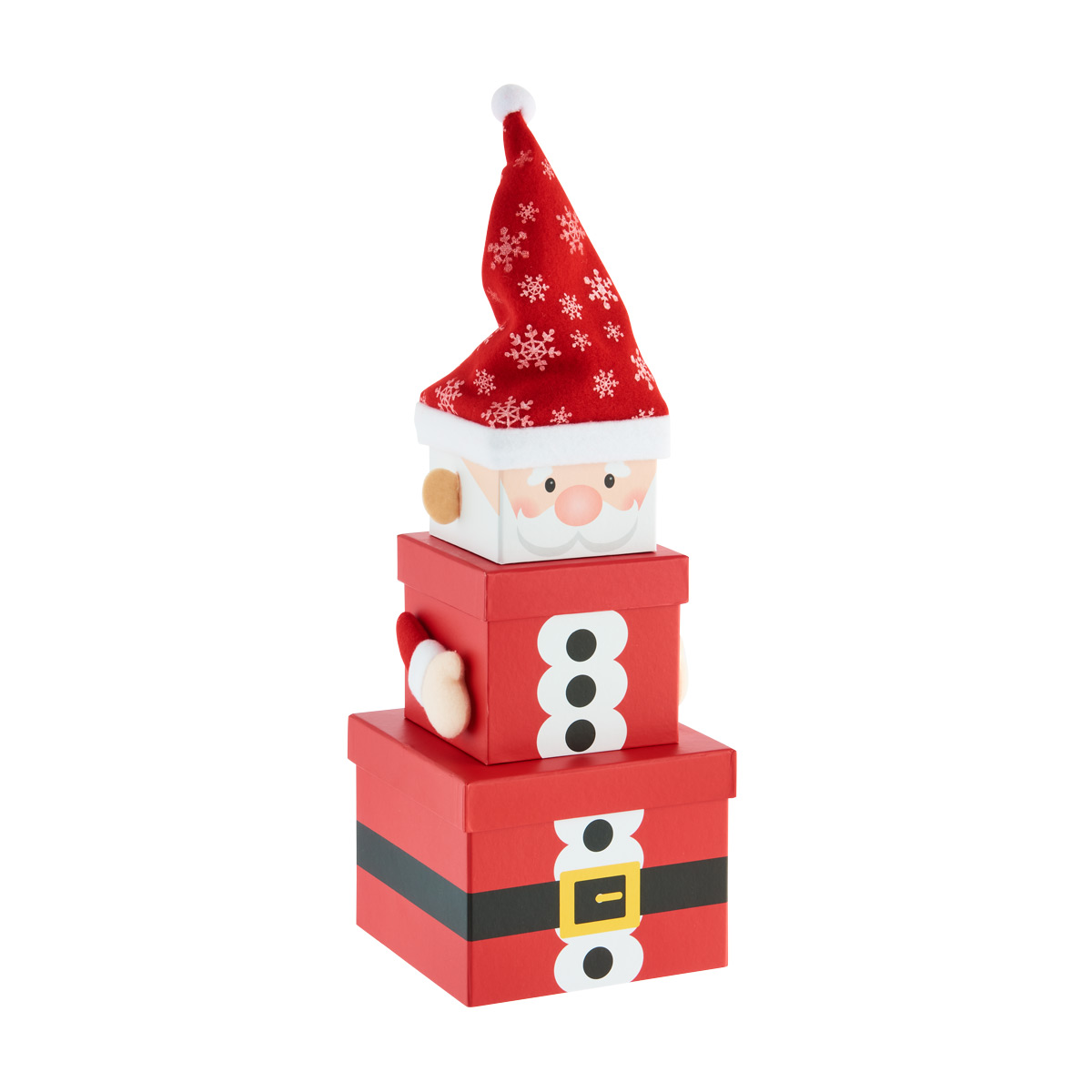 Stacking Box Santa