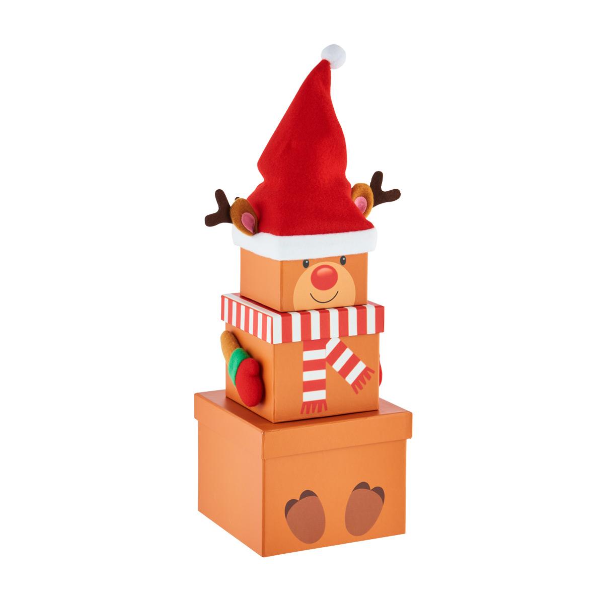 Stacking Box Reindeer