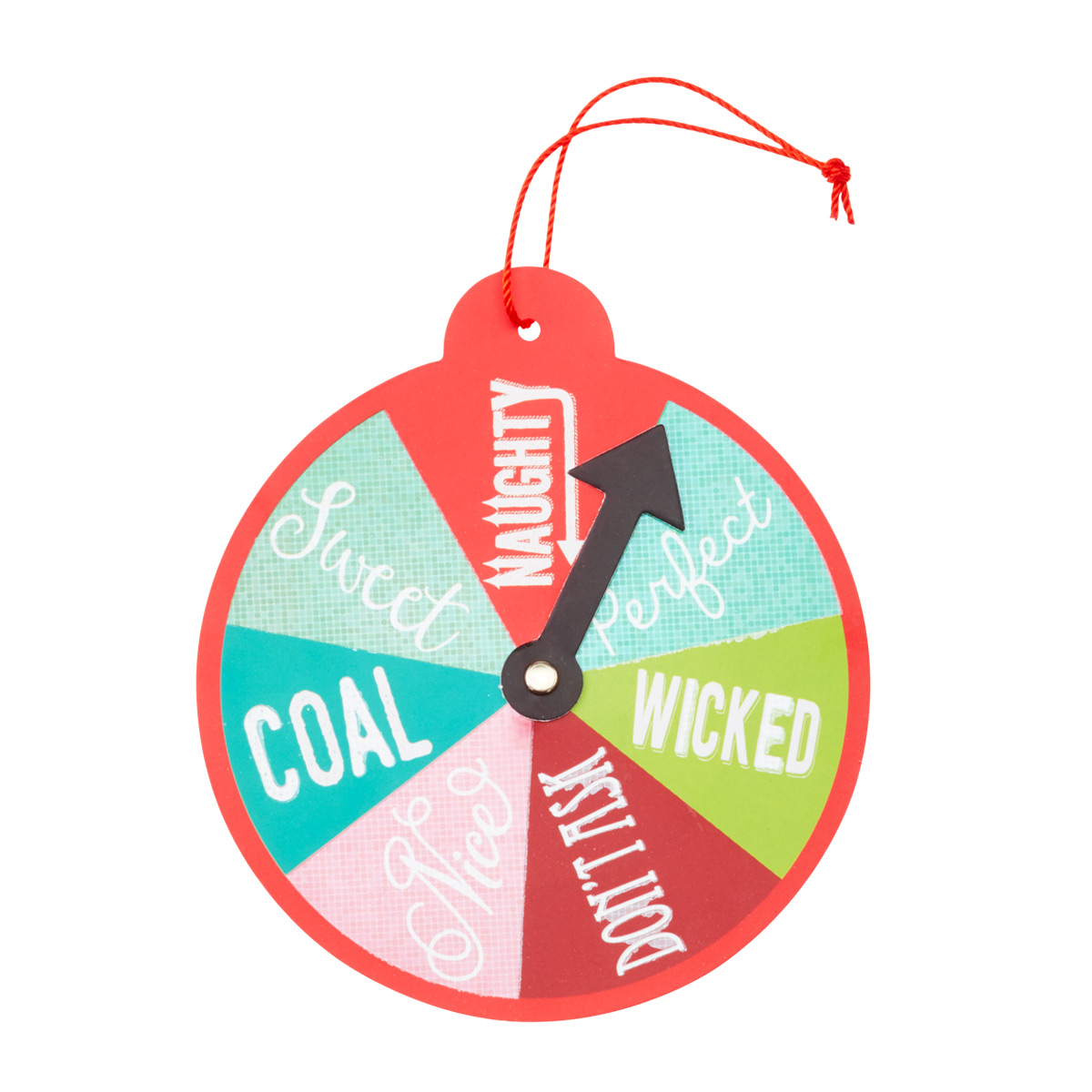 Gift Tags Spin the Wheel