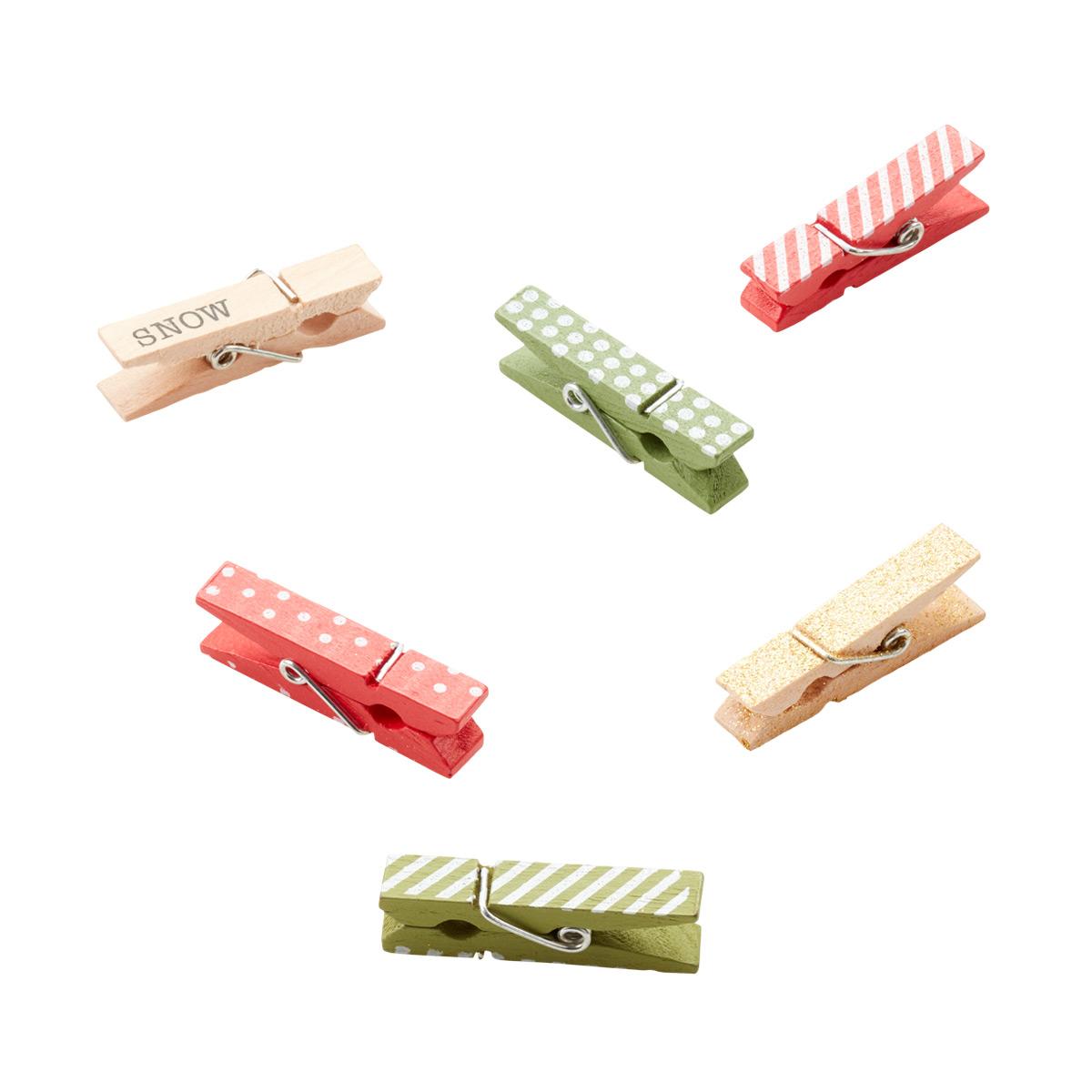 Clothespins Holiday