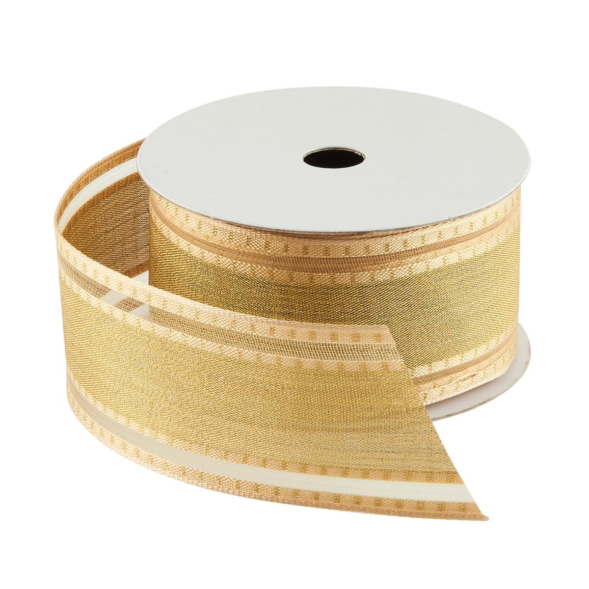 Ribbon Wired Semi Sheer