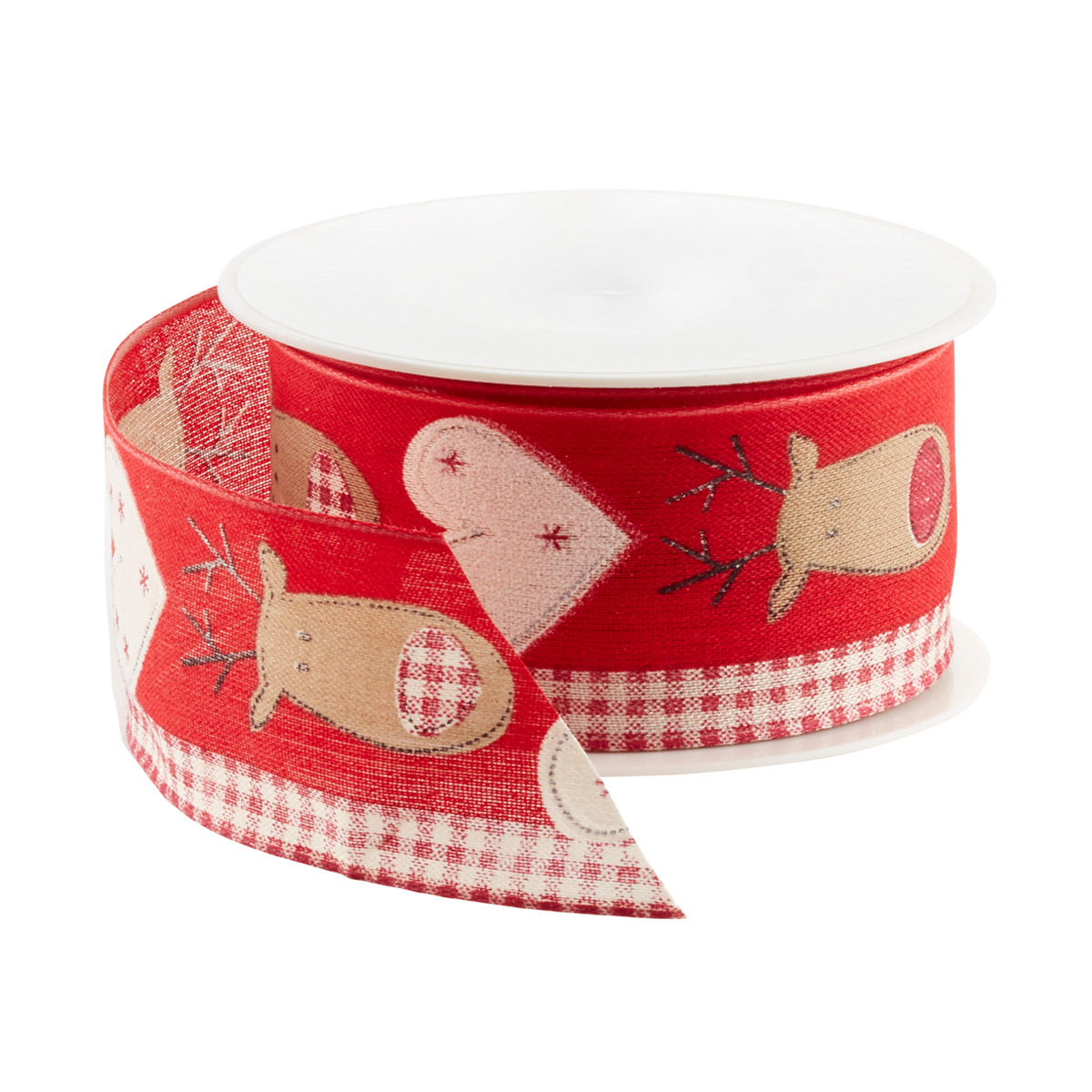 Ribbon Wired Deer and Hearts