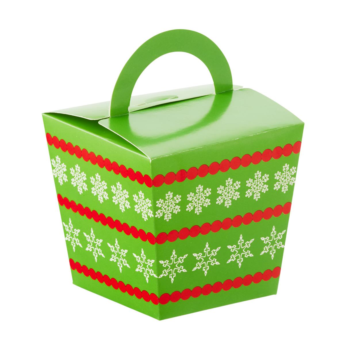 Take-Out Boxes Snowflake