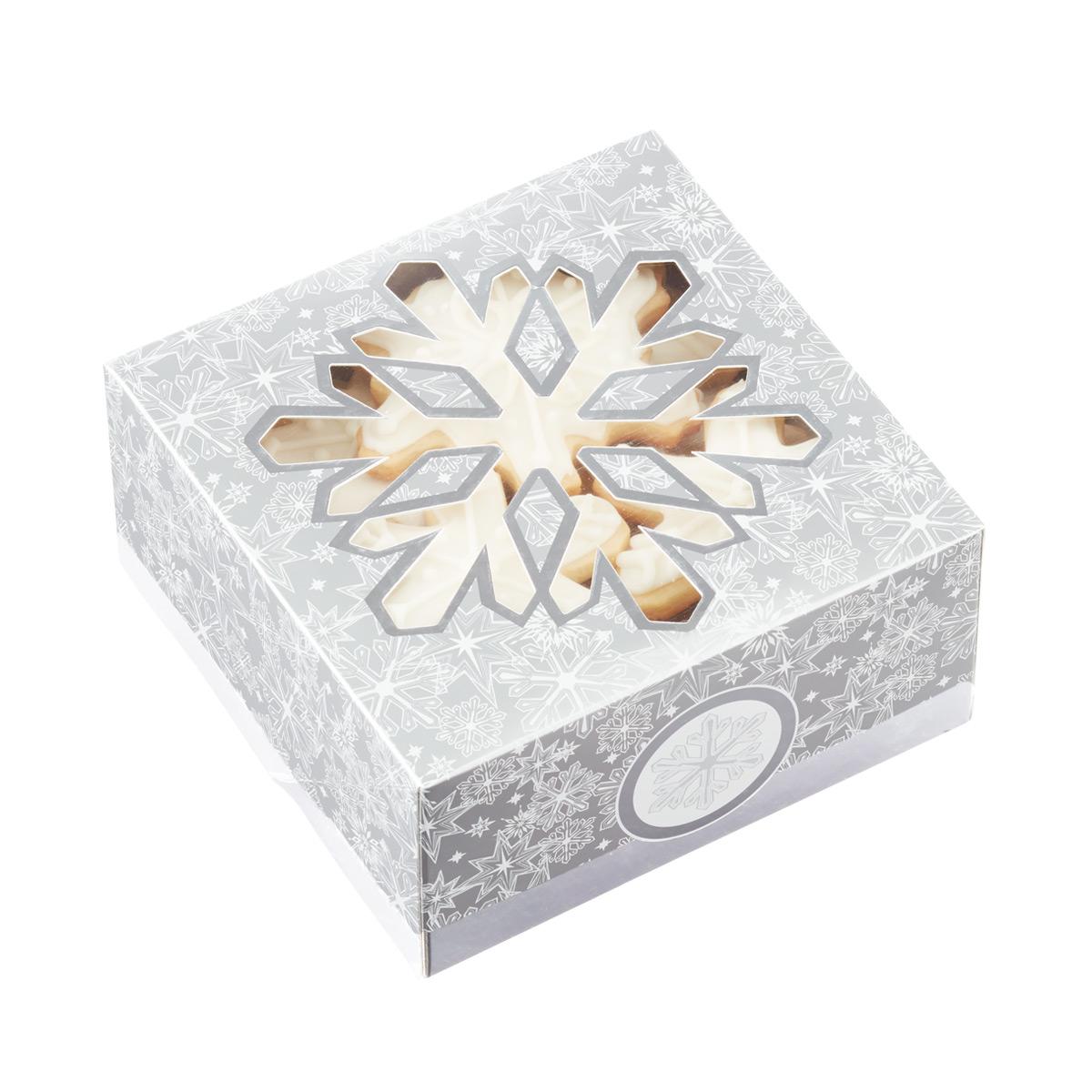 Cookie Boxes Snowflake