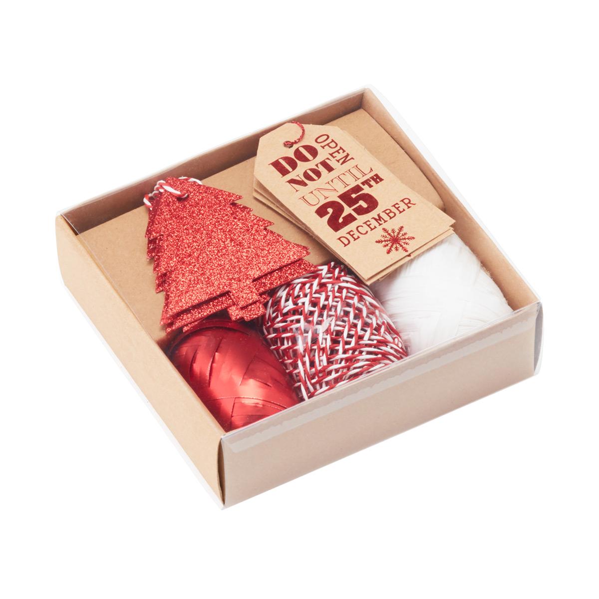 Tag & Ribbon Kit Do Not Open