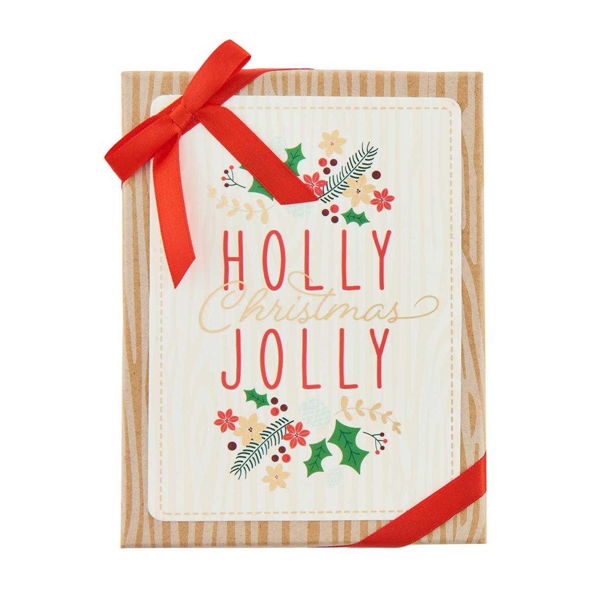 Gift Card Holder Holly Jolly