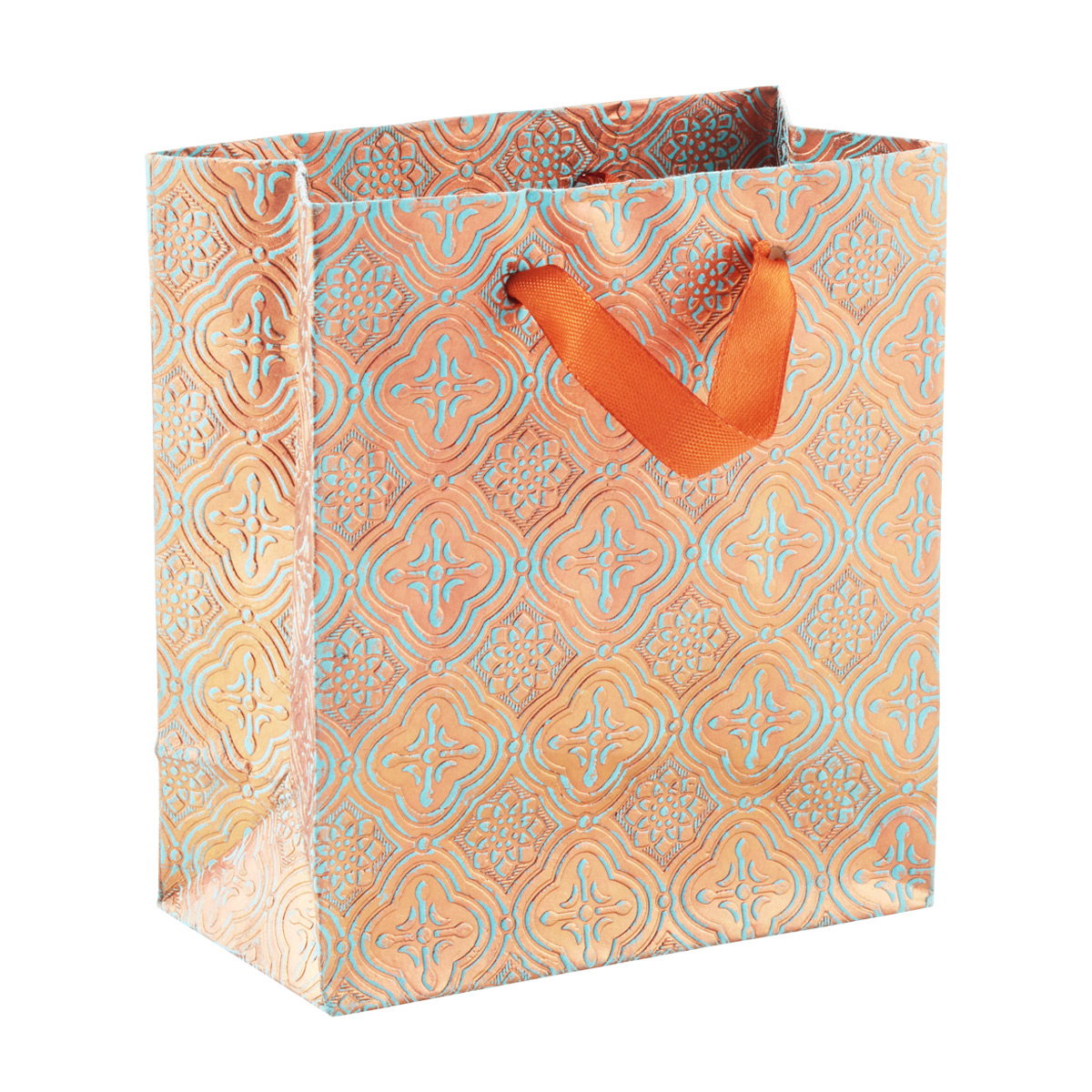 Tote Embossed Tile Patina