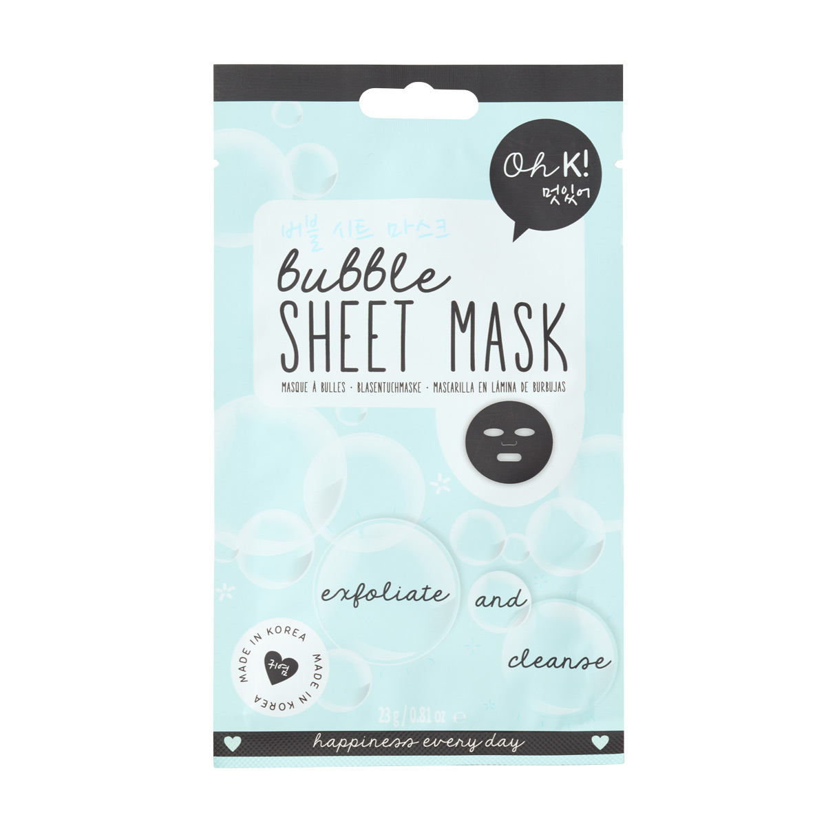Oh K! Sheet Face Mask