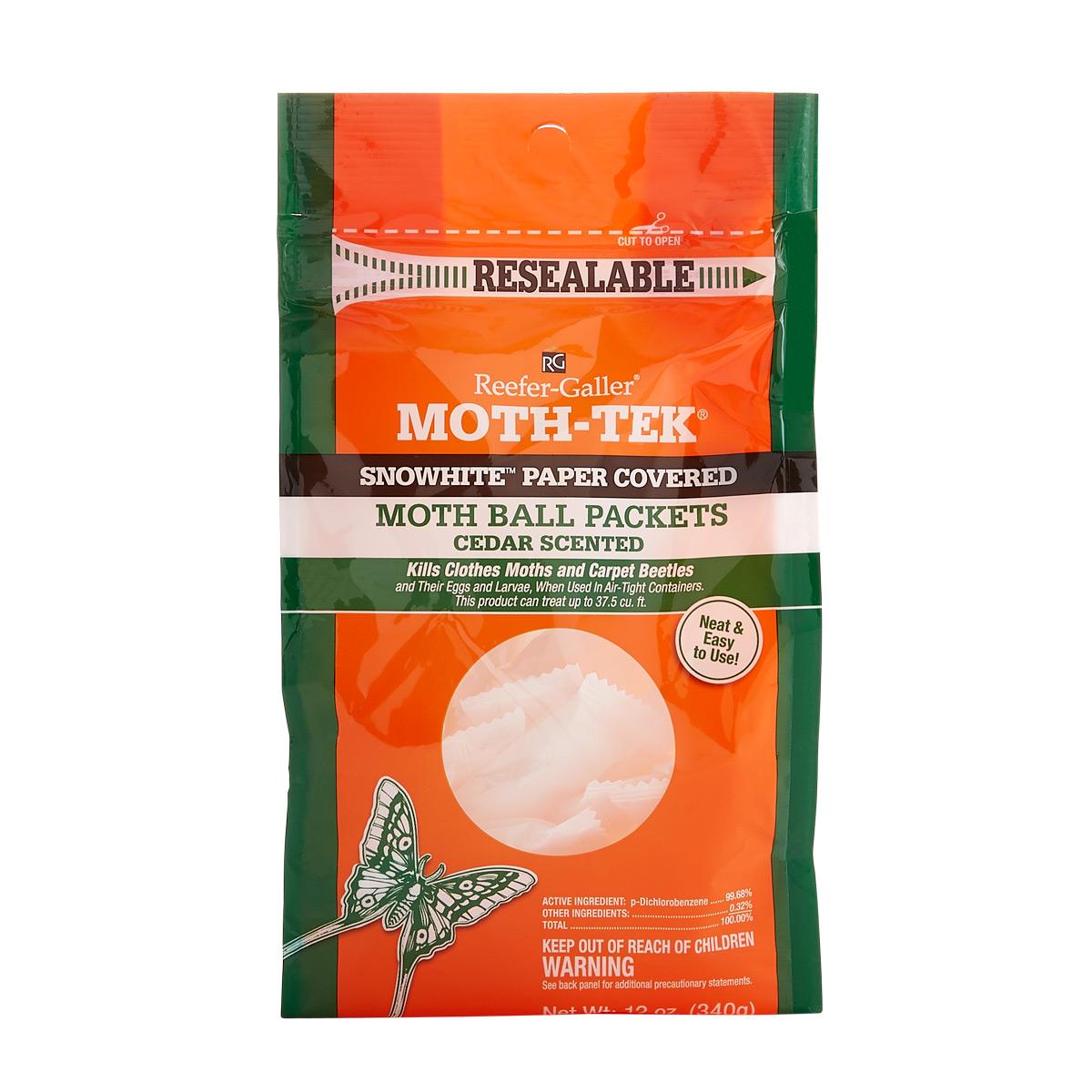 Moth-Tek~ Packets Cedar