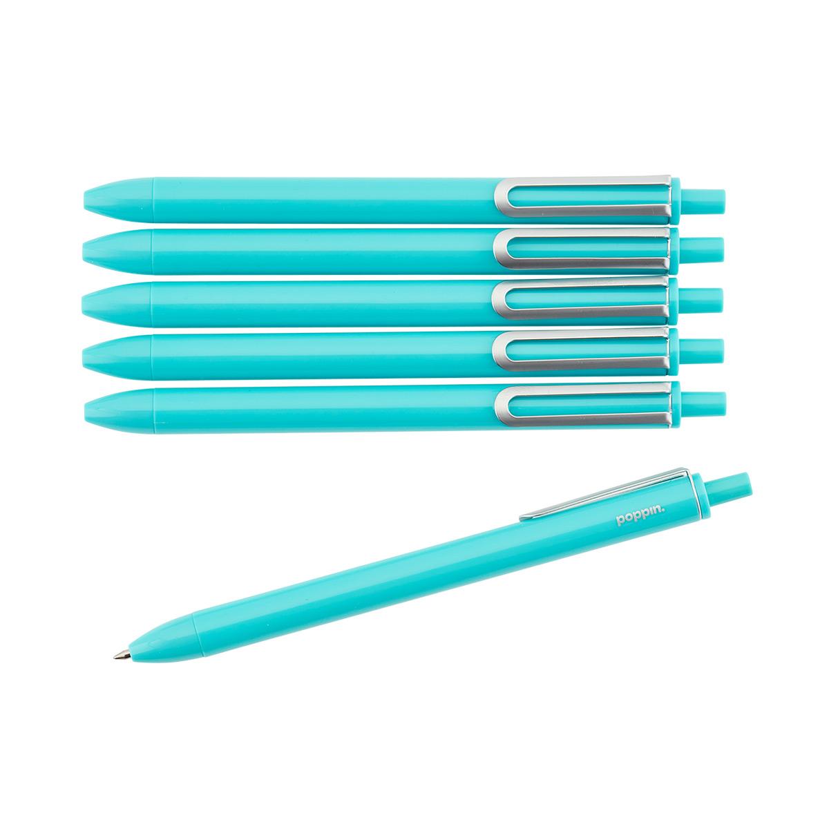 Retractable Gel Luxe Pens