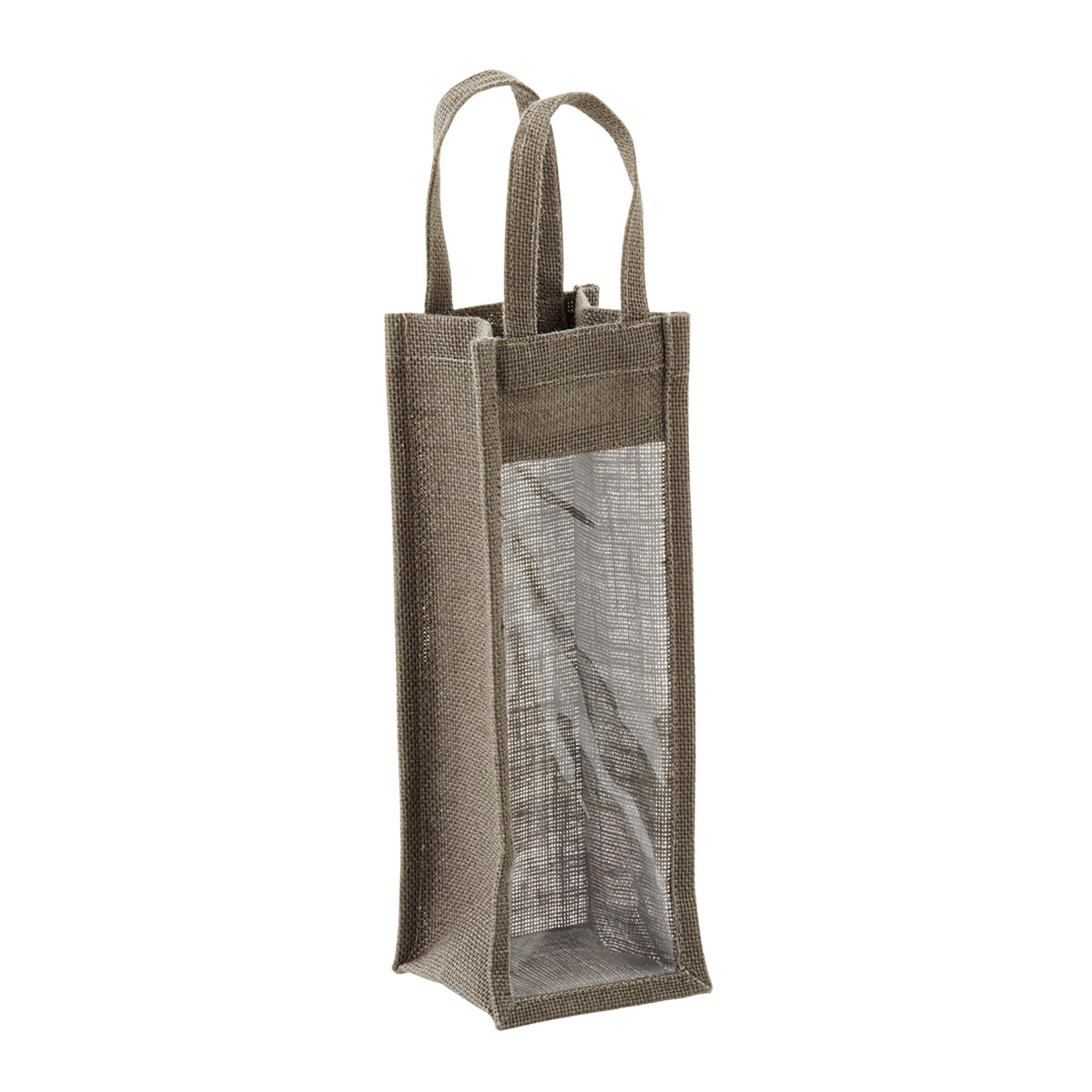 Tote Jute w/ Window