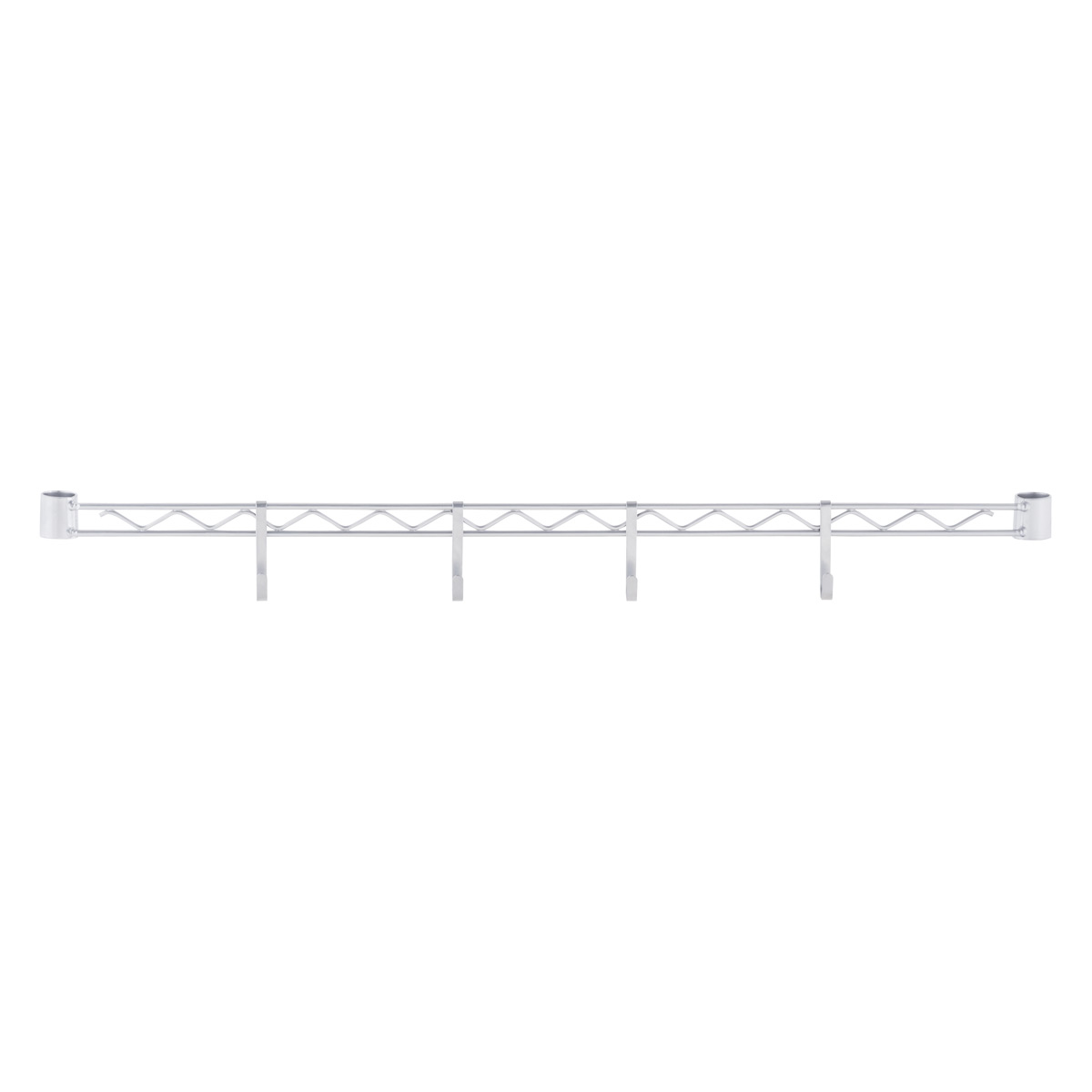 Hanger Rail with Snap-On Hooks