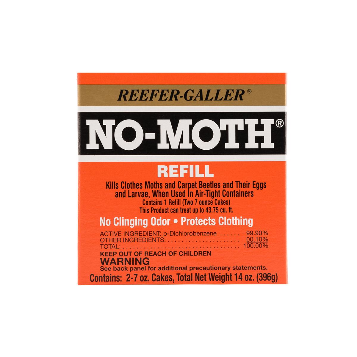 No-Moth~ Closet Hanger Refill