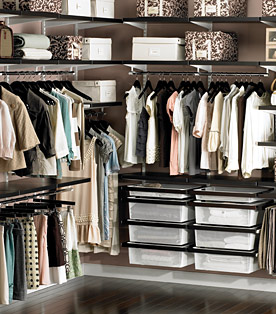 The Container Store Closet Organization. Closet