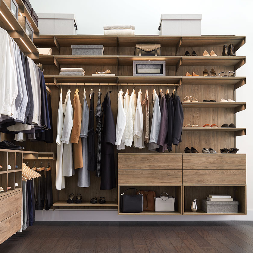 Master & Walk In Closet Ideas – Avera Custom Closet Design ...