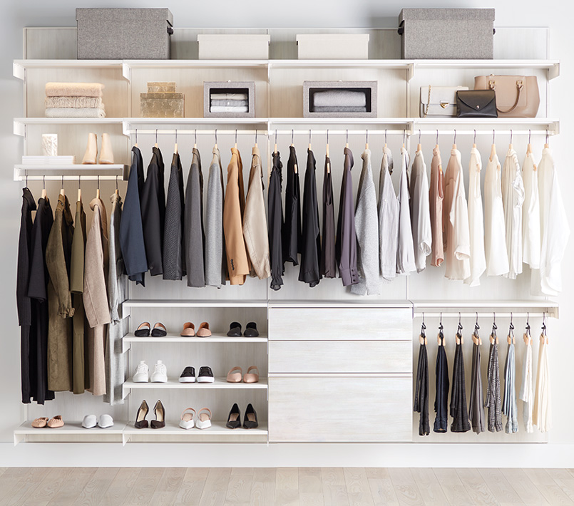1ba600d309111 Custom Closets - Custom Closet Shelving & Systems | The Container Store