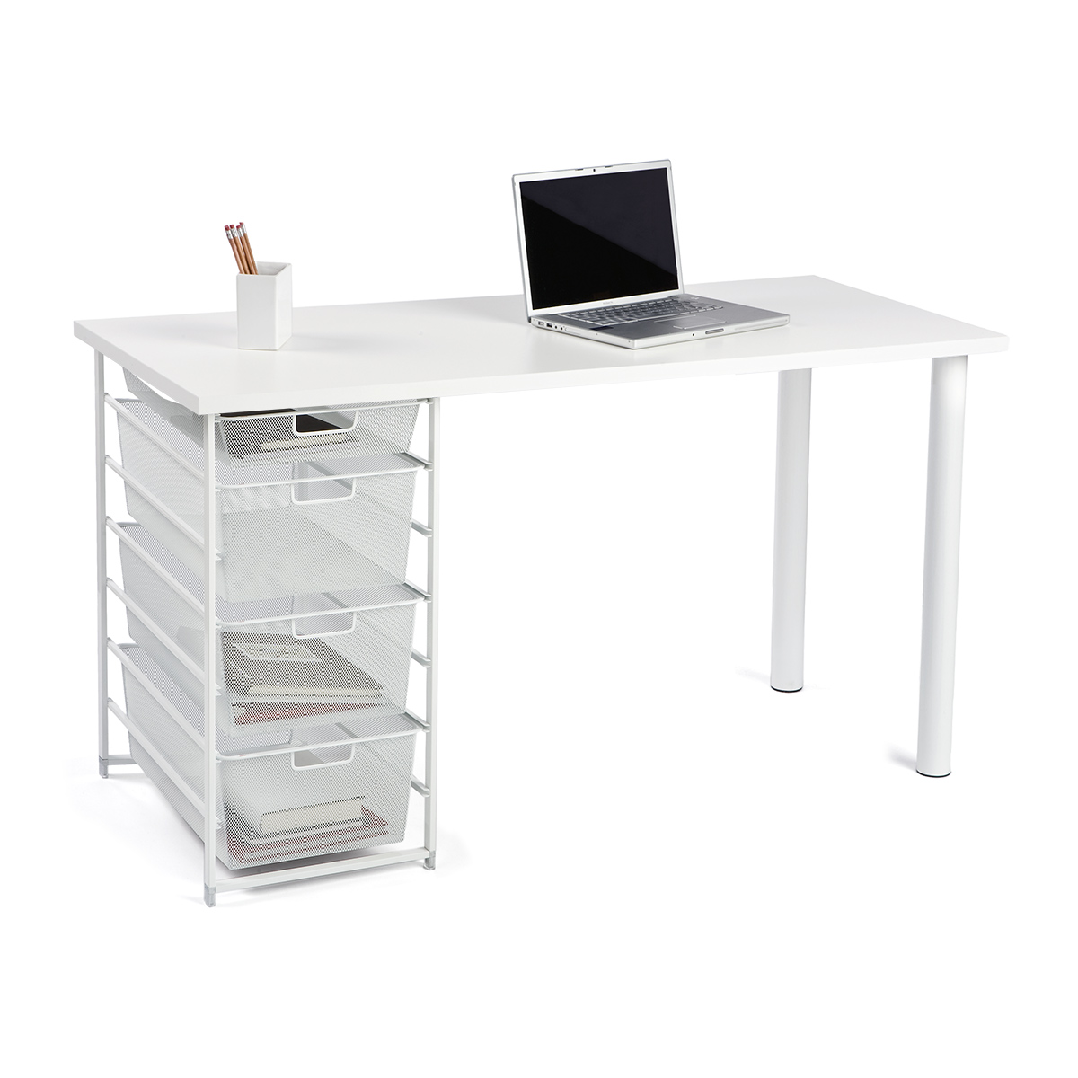 Elfa Desk Configuration Single Elfa