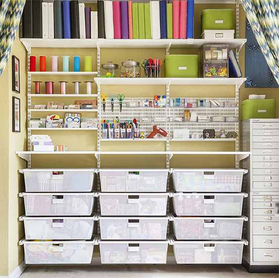 Craft Shelving Ideas Design Ideas For Craft Closets