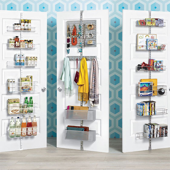 Elfa Utility Pantry Closet And Media Door Wall Racks