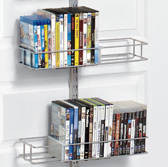 Platinum Elfa Utility Media Door & Wall Rack