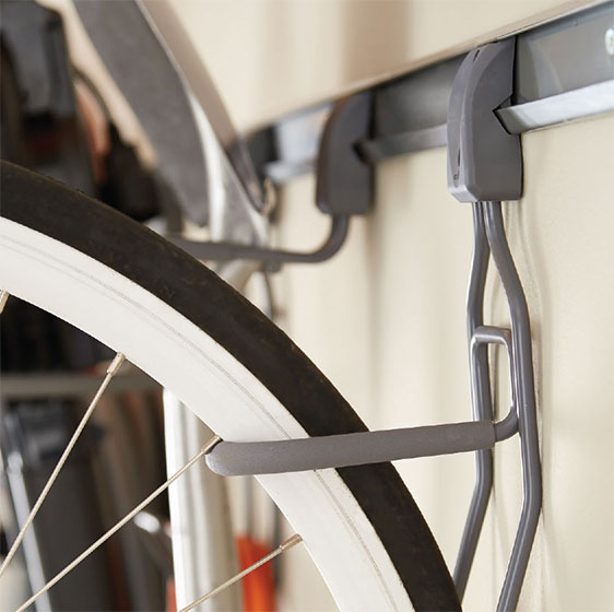 elfa utility Vertical Bike Hook