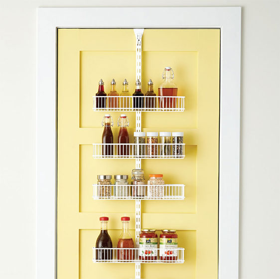 Elfa Utility Pantry Door & Wall Rack