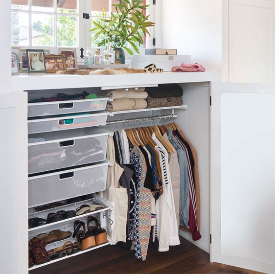 Ideas & Designs For Reach In Closets