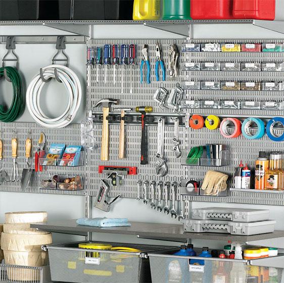 Platinum Elfa Utility Tool Board