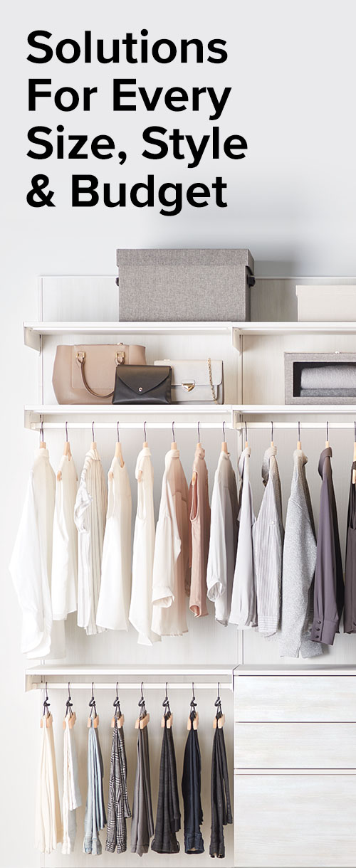 Solutions for every size, style and budget.