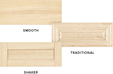 custom closet drawer panel options