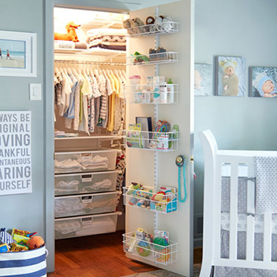 Amazing Baby Closet Organization Ideas