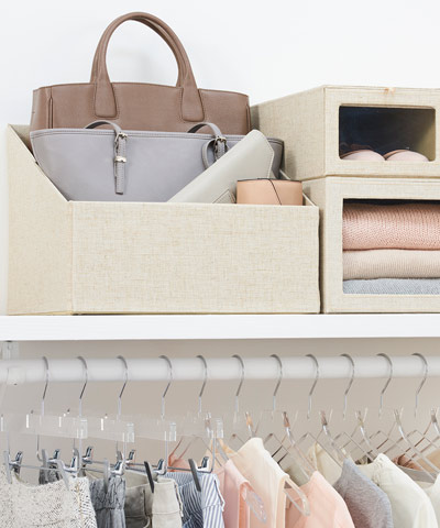 Our Top 4 Handbag Storage Ideas