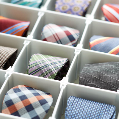 Men's Accessories Organization Ideas-image