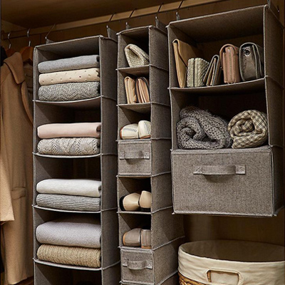 Our top 4 handbag storage ideas closet ideas organization tips the container store - Closet storage ideas small spaces model ...