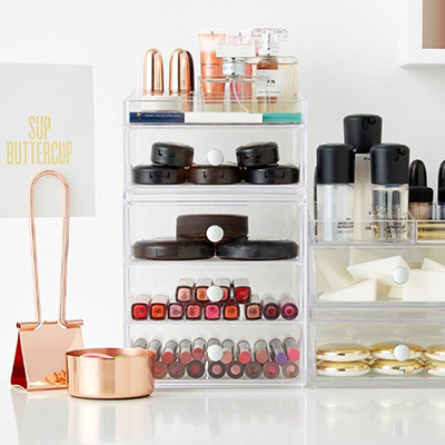 Makeup Organizers Perfect For Your Dorm Ideas Organization - Container store makeup organizer