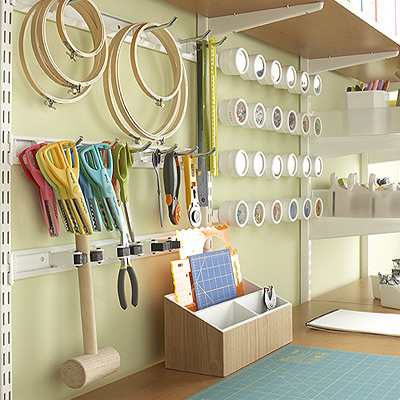 5 Craft Room Organization Ideas-image