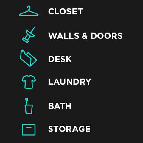 The Dorm Room Basic Six™ Part 61