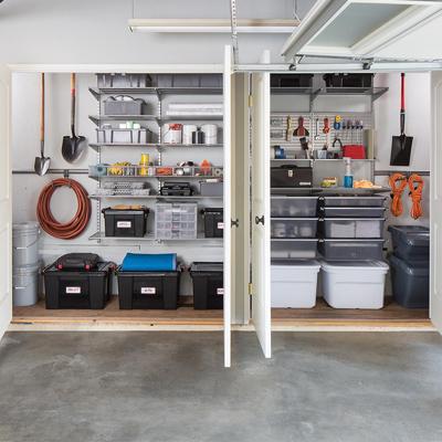 https www.containerstore.com tip roomgarage garage-shelving-ideas - Storage Tips for Basement Attic & Garage – GARAGE Ideas