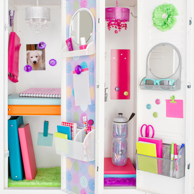 locker decoration organization ideas - Locker Designs Ideas