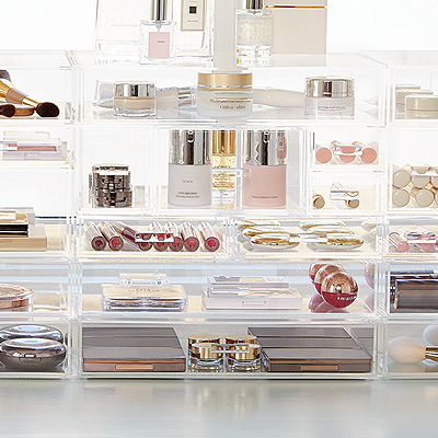 Makeup Organization Ideas Ideas Organization Tips The - Container store makeup organizer